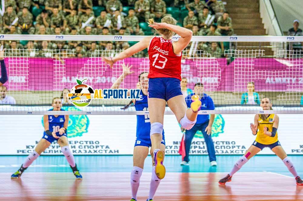Казахстанские волейболистки завоевали серебро в финале Мирового Гран-при
