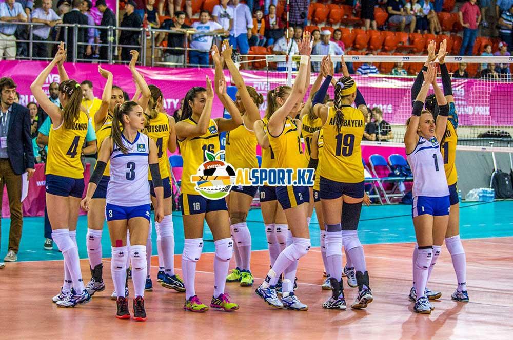 Казахстанские волейболистки одолели колумбиек на Мировом Гран-при