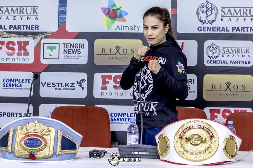 Фируза Шарипова отменила свой бой