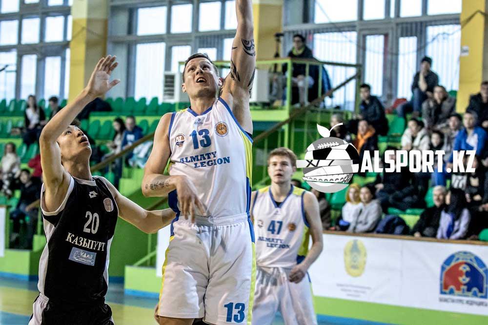 """Баскетболисты """"Алматинского Легиона"""" разгромили шымкентский """"Казыгурт"""""""