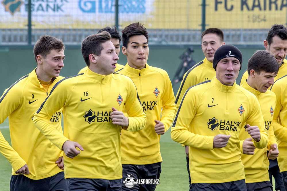 Футболисты Кайрата провели открытую тренировку 2017