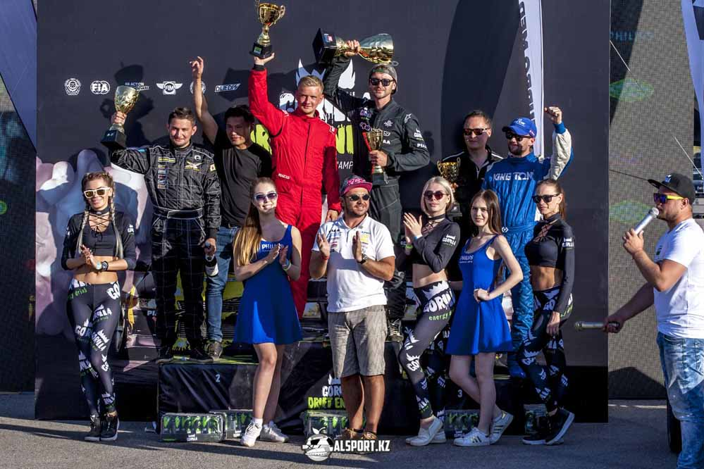 Антон Авдеев выиграл второй этап Чемпионата Казахстана по дрифту 2018