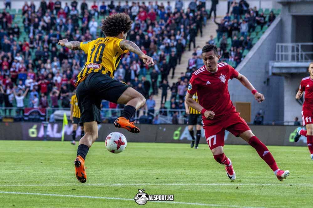 Кайрат - Тараз 4:0 КПЛ-2017. 13 тур. 20 мая 2017 года