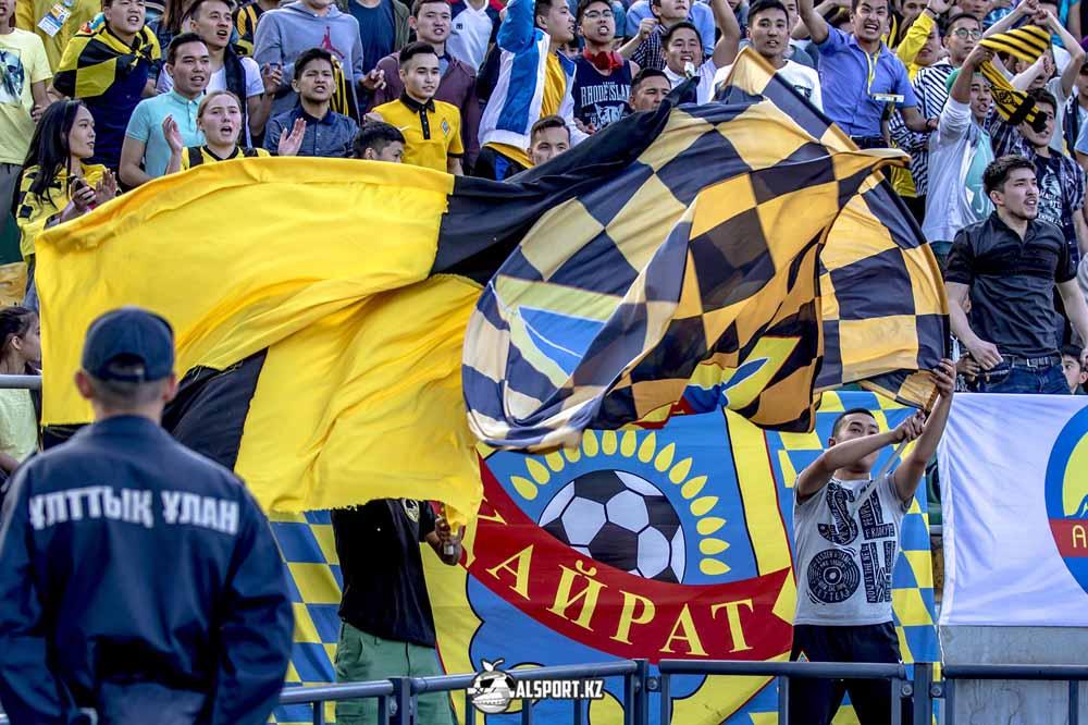 Кайрат самый посещаемый клуб в Казахстане в 2019 году