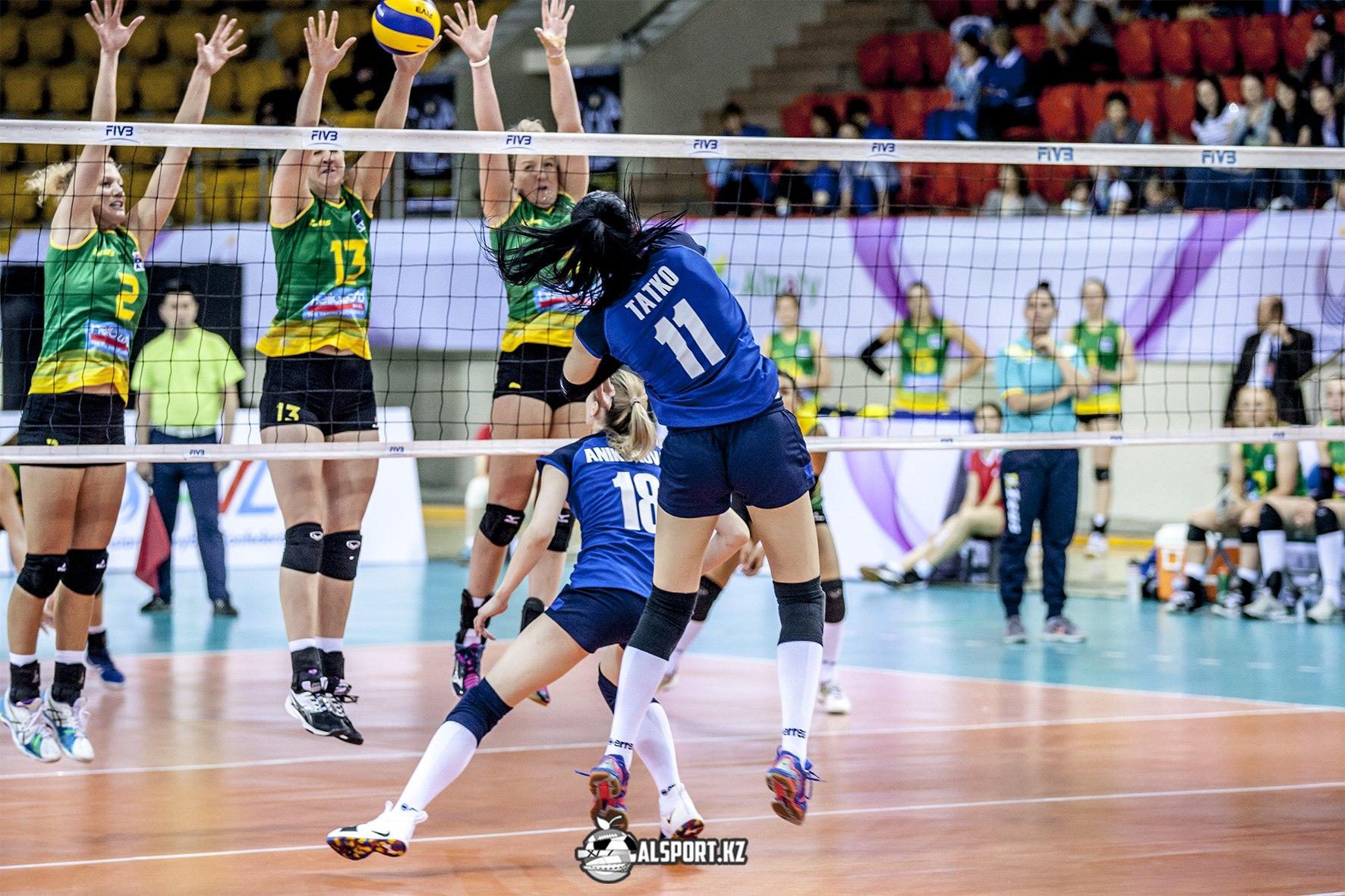 Третий тур Национальной лиги по волейболу в Алматы