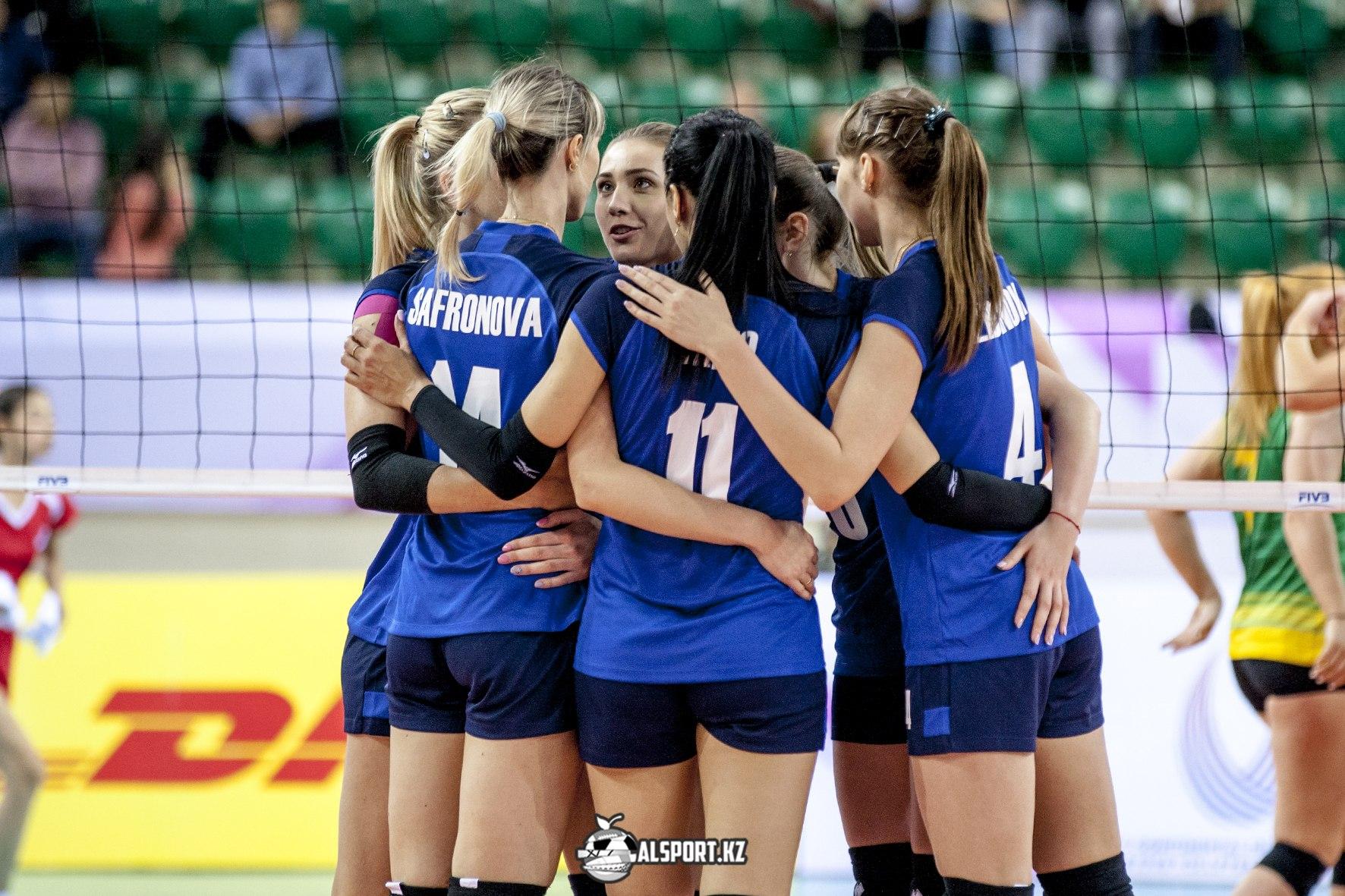 Казахстан разгромил своих оппонентов в квалификационном турнире к Кубку Вызова по волейболу