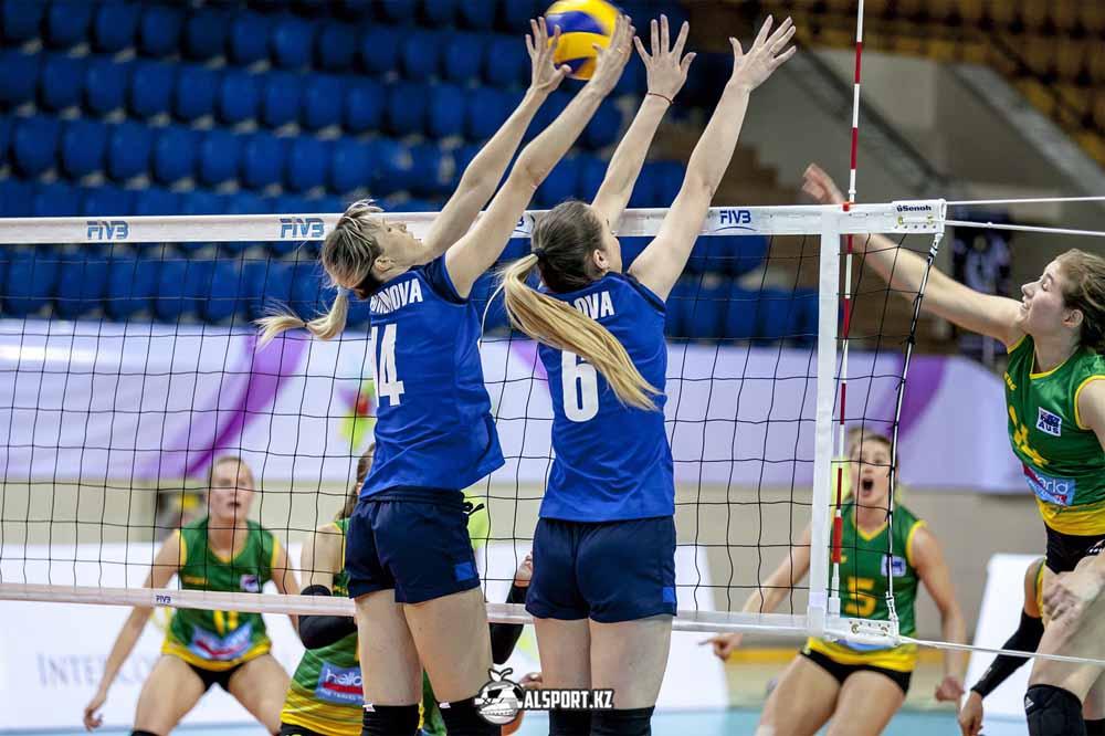 Алматинские волейболистки обыграли соперниц из Астаны