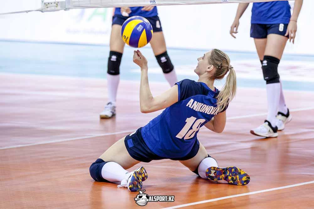 Казахстанские волейболистки пробились в финал Кубка Азии