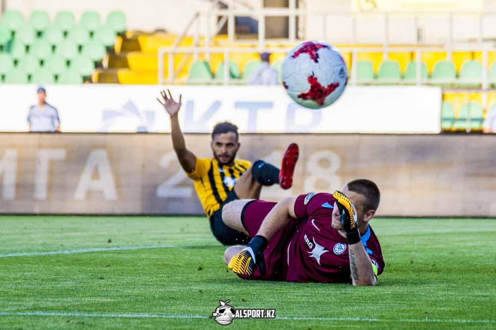 Кайрат - Тараз 2:0. 1/8 финала Кубка Казахстана