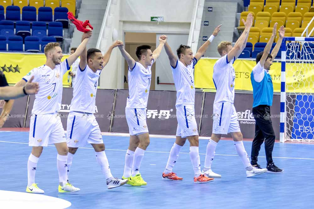 Сборная Казахстана пробилась в финал студенческого чемпионата мира, обыграв португальцев