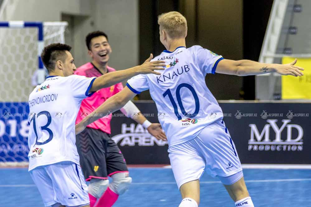 Казахстанские футзалисты пробились на чемпионат мира