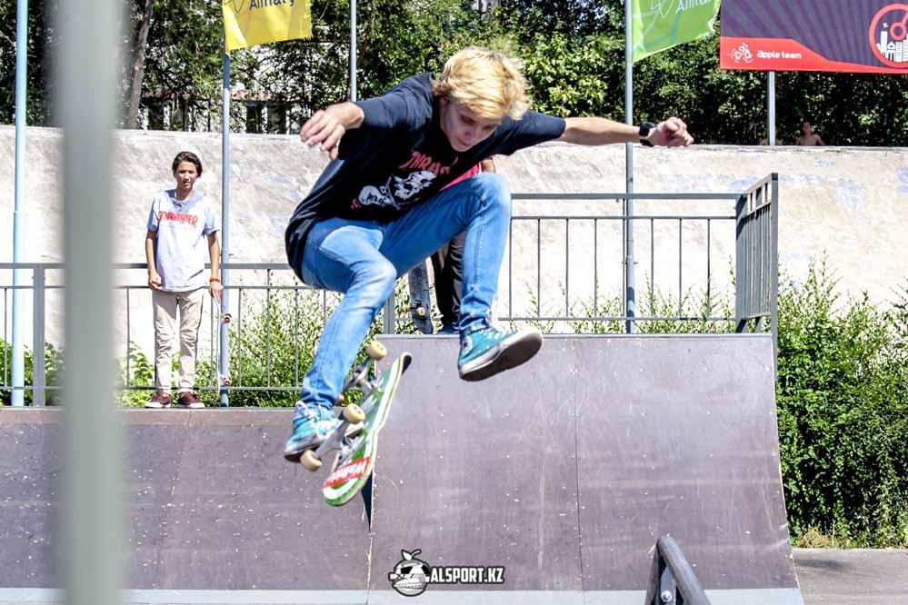 Первый этап Чемпионата Казахстана по скейтбордингу