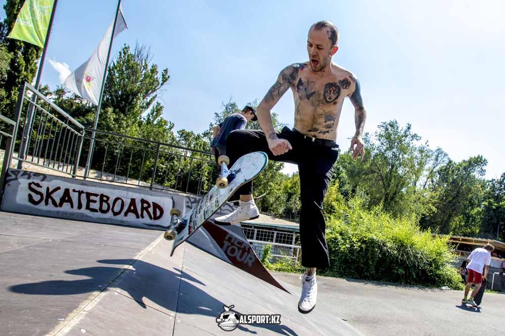 В Казахстане появилась федерация скейтбординга