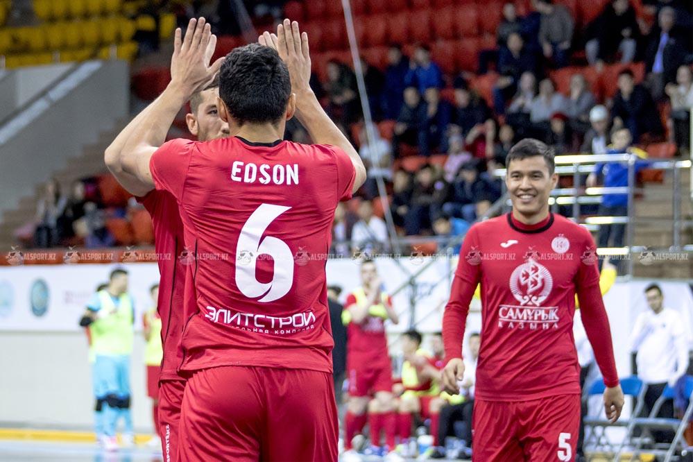 Футзальный Кайрат в Чемпионате Казахстана 2019