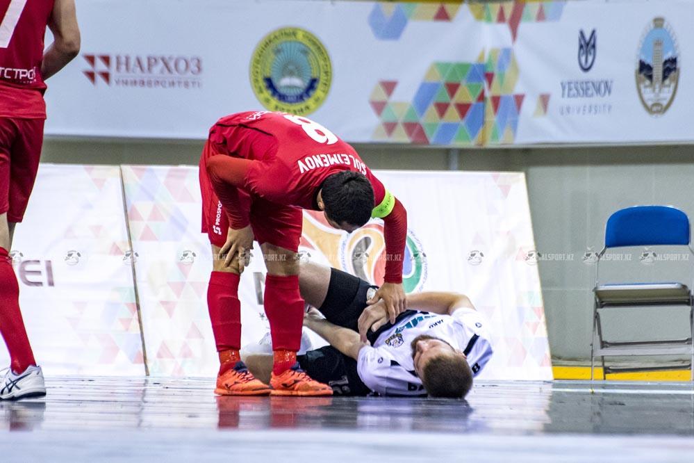 Футзальный Кайрат в Основном раунде Кубка УЕФА 2017