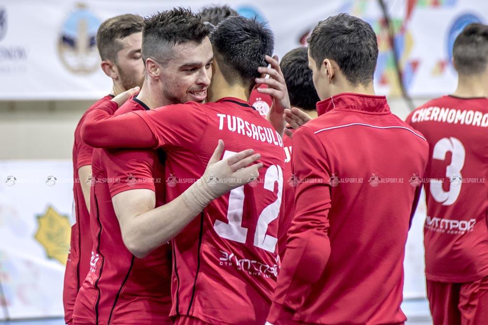 Кайрат вышел в Финал Четырех Кубка УЕФА