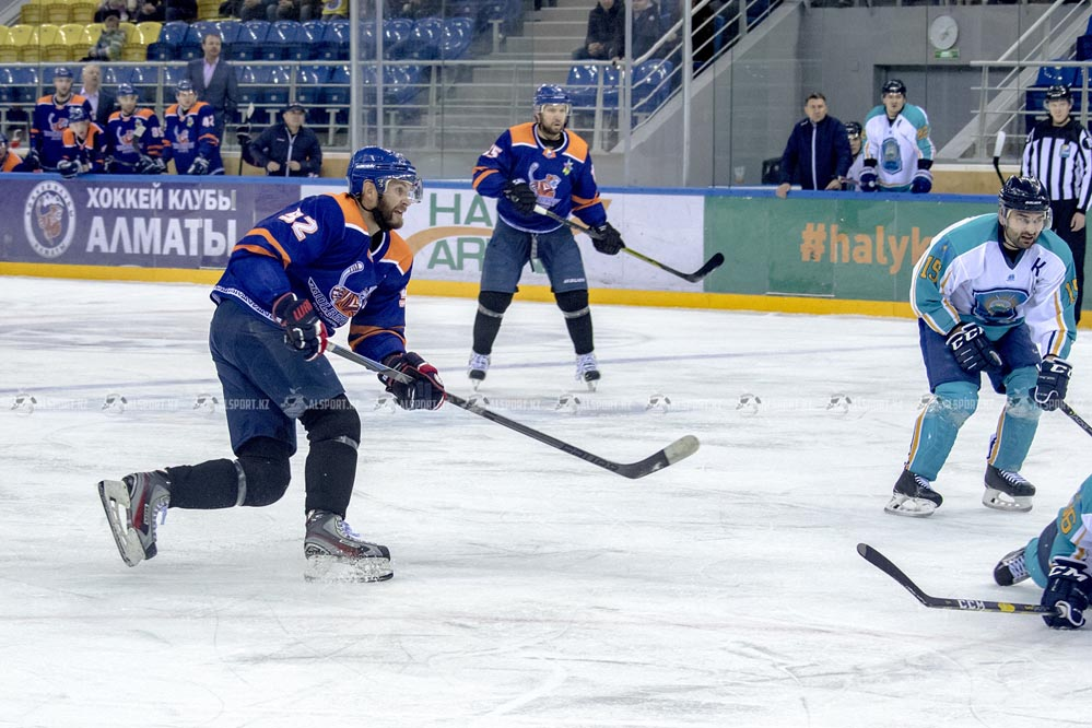 Астана - Алматы. 2-3 октября 2019. Чемпионат Казахстана по хоккею