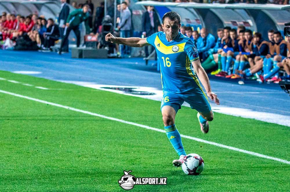 казахстанские футболисты в Лиге Наций
