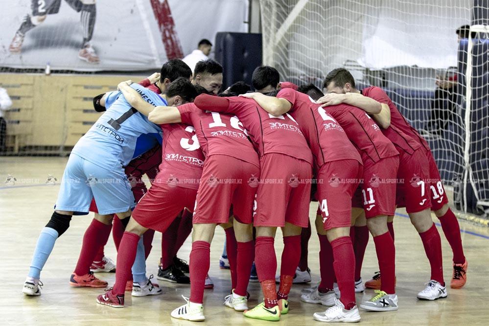 Алматинский Кайрат - обладатель Кубка Казахстана по футзалу-2019