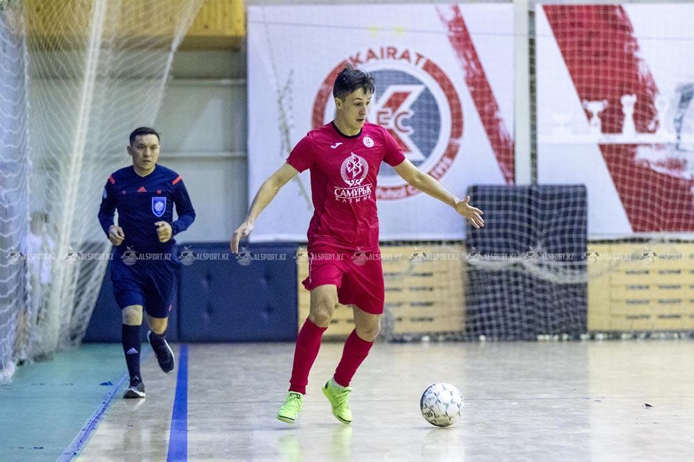 Окжетпес - Кайрат. 11-12 января 2020 - Чемпионат Казахстана футзал