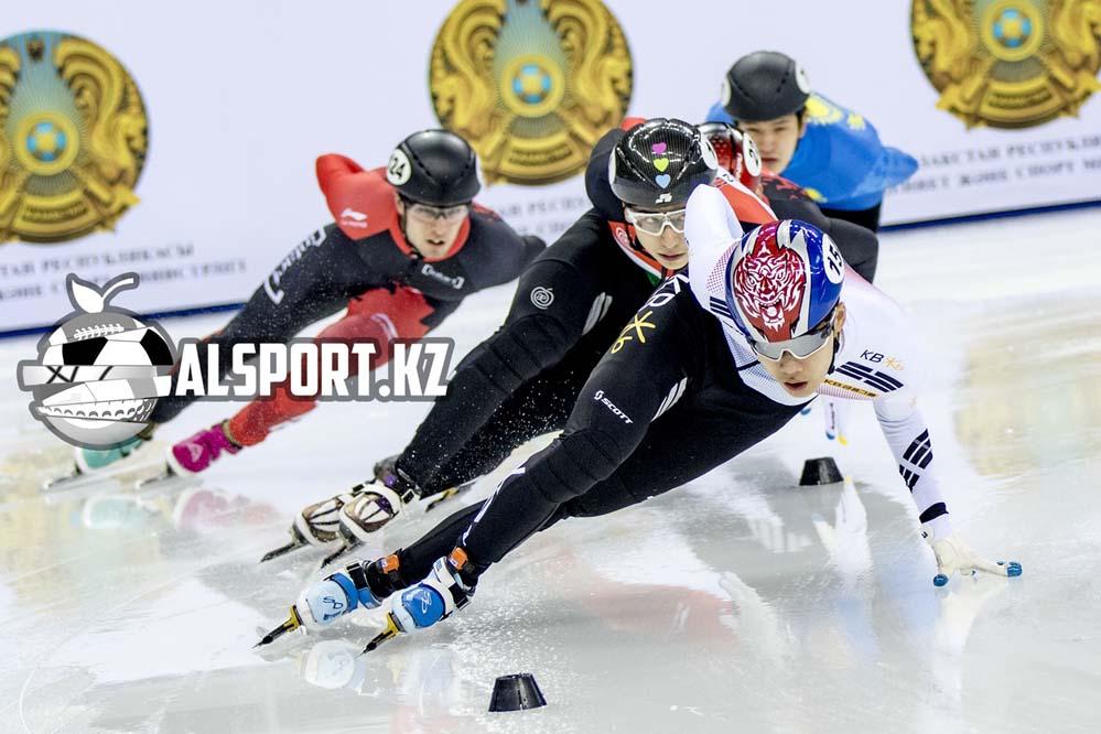 В Алматы прошел этап Кубка мира по шорт-треку