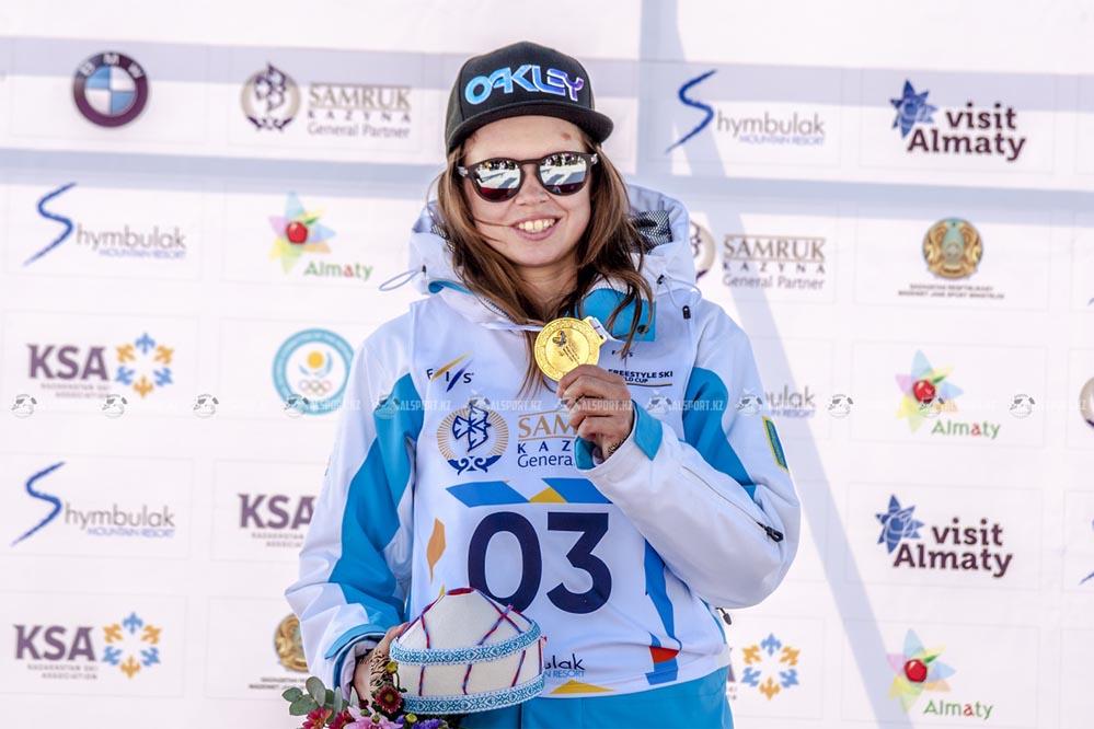 Казахстанская фристайлистка стала чемпионкой мира
