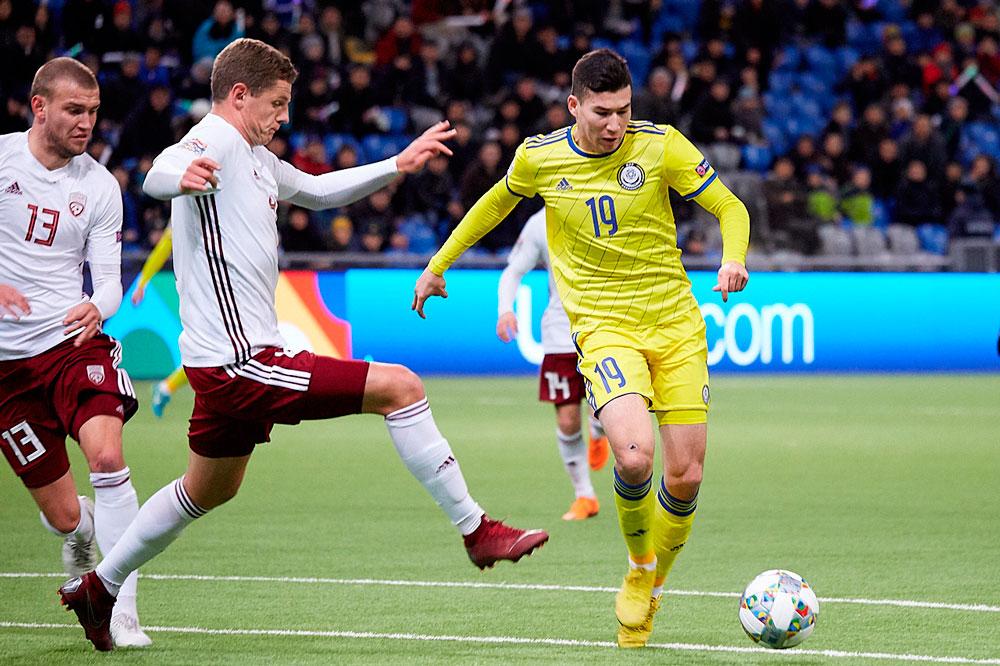 Казахстан - Россия 0:4. 24 марта 2019