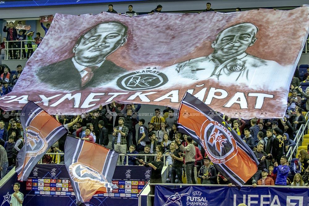 Футзальный Кайрат в Лиге Чемпионов 2019-2020