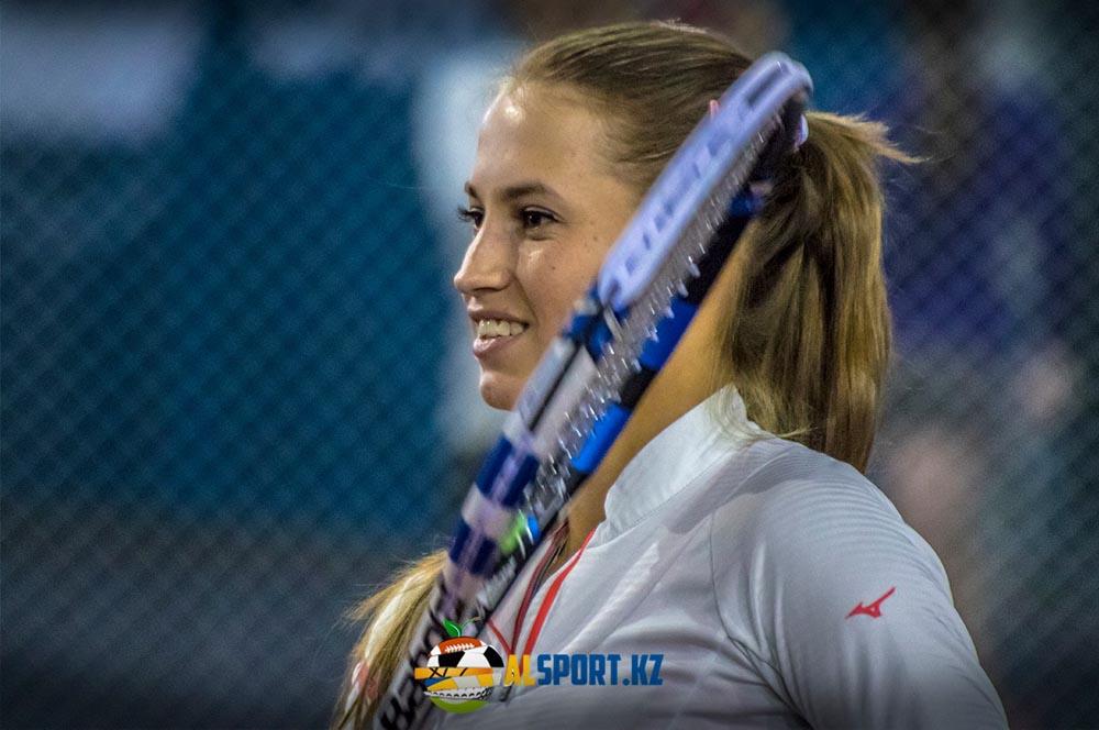 Казахстанская теннисистка обыграла первую ракетку мира и вошла в историю (видео)