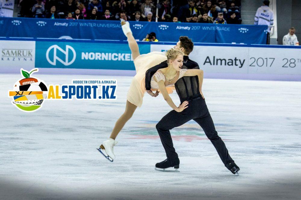 выступление фигуристов в танцах на льду