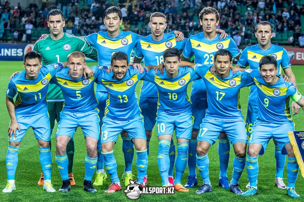 Сборная Казахстана в обновленном рейтинге УЕФА