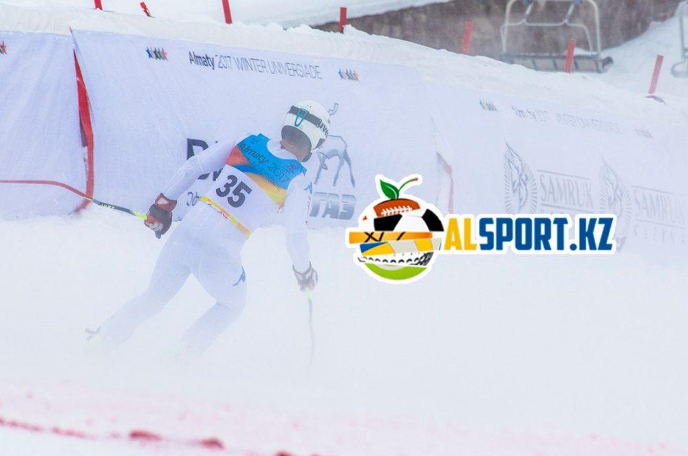 На Шымбулаке прошли соревнования среди горнолыжников