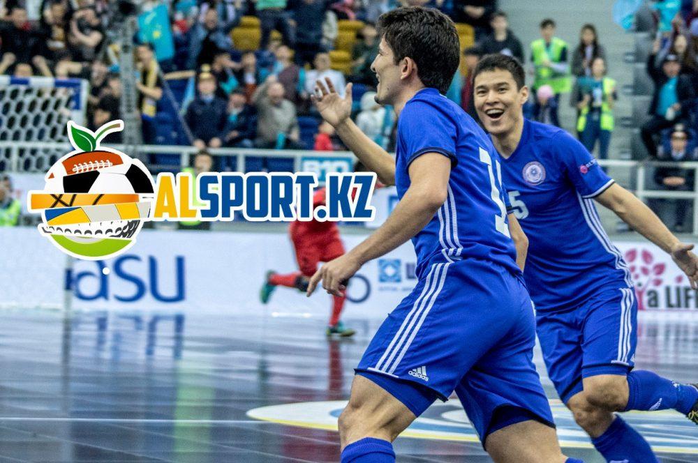 Сборная Казахстана по футзалу пробилась на Чемпионат Европы-2018