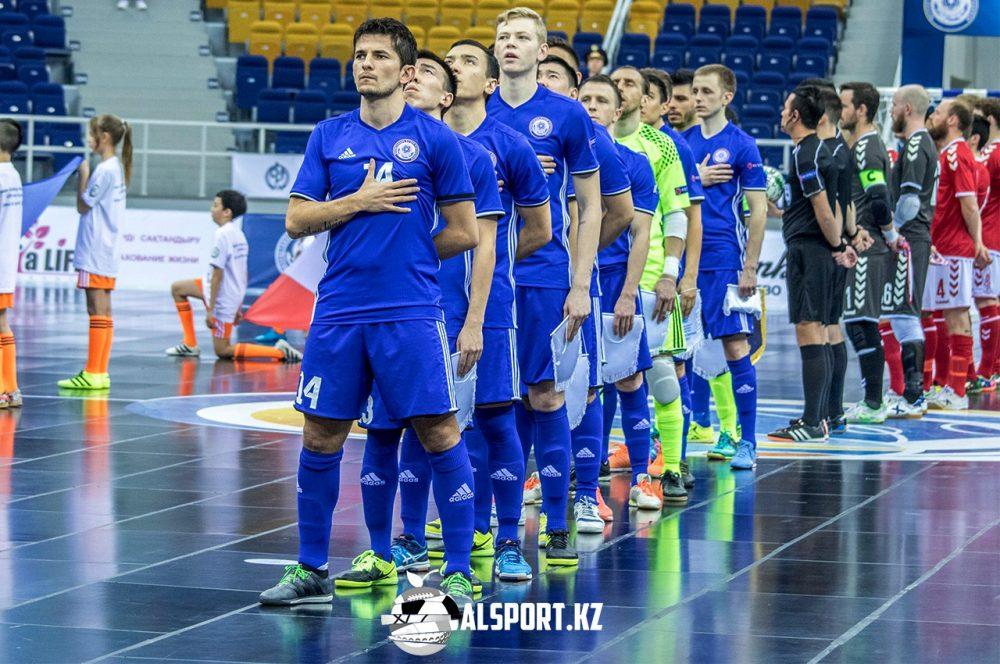 Казахстанские футзалисты обыграли македонцев в отборе на Евро-2018
