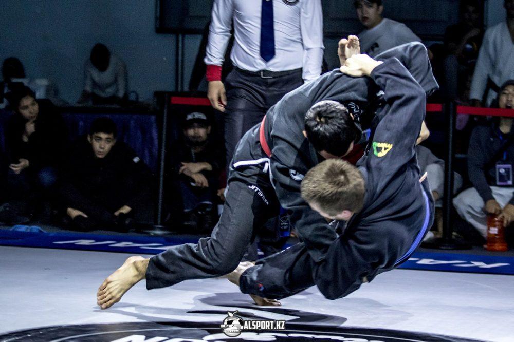 Международный турнир по бразильскому джиу-джитсу в Алматы